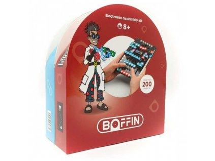 El.stvebnice Boffin Magnetic 200 projektů