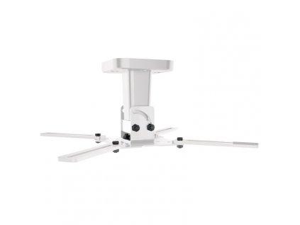 Držák Meliconi PRO 100, stropní, pro projektor, nosnost 15kg - bílý