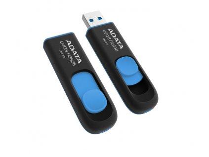 Flash USB ADATA UV128 128GB USB 2.0 - černý/modrý
