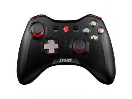 Gamepad MSI Force GC30, bezdrátový, pro PC, PS3, Android - černý