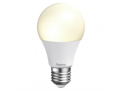 Chytrá žárovka Hama SMART WiFi LED, E27, 10 W, bílá teplá/studená