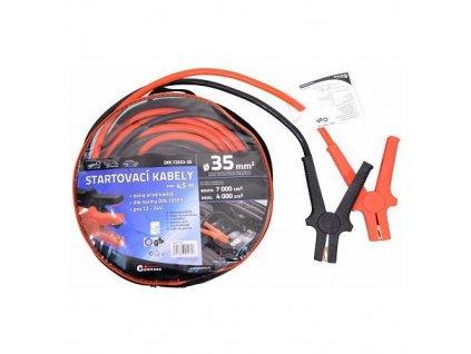 Startovací kabely Compass 35 délka 4,5m TÜV/GS DIN72553