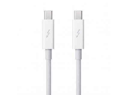 Kabel Apple Thunderbolt, 0.5 m - bílý