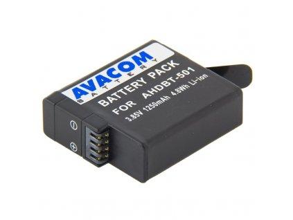 Baterie Avacom GoPro AHDBT-501 Li-Ion 3.7V 1250mAh 4.8Wh