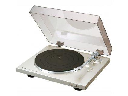 Gramofon Denon DP-300F, stříbrný