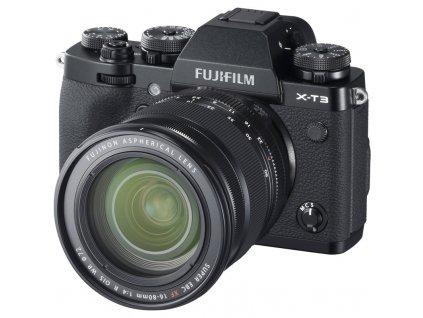 CSC fotoaparát FujiFilm X-T3 + XF16-80, černý