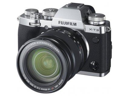 CSC fotoaparát FujiFilm X-T3 + XF16-80, stříbrný