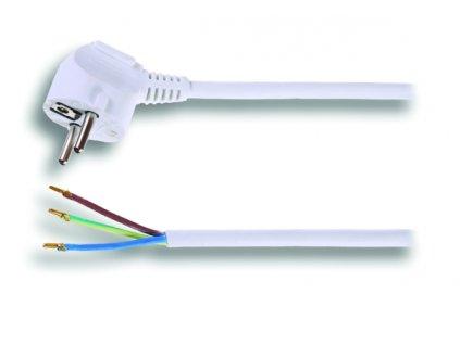 Kabel Solight Flexo šňůra, 2m, 3 x 1mm2 - bílá