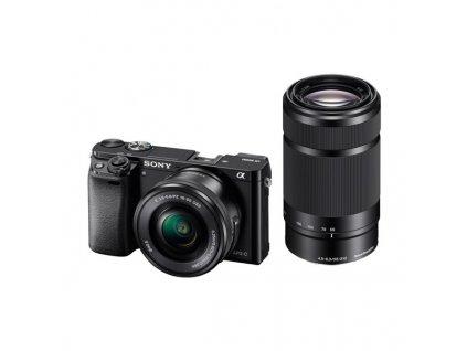 CSC fotoaparát Sony Alpha A6000 + 16-50mm + 55-210mm