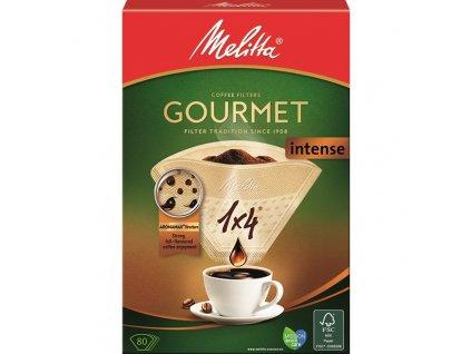 Filtr do kávovaru Melitta Gourmer intense 1x4 80 ks