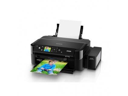 Tiskárna inkoustová Epson L810 A4, 5str./min, 4str./min, 5760 x 1440, - černá
