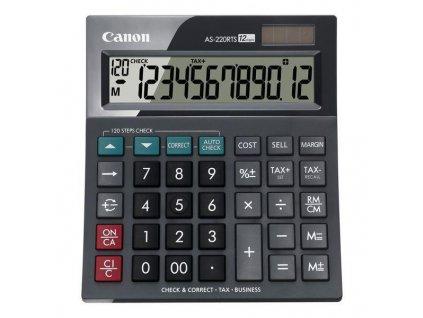 Kalkulačka Canon AS-220RTS - černá
