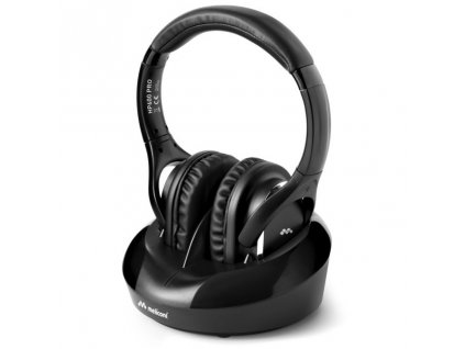Sluchátka Meliconi HP 600 Pro - černá