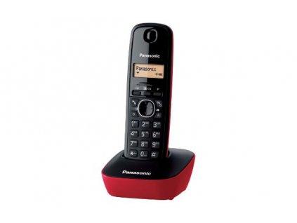 Domácí telefon Panasonic KX-TG1611FXR - červený