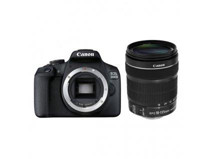 Zrcadlovka Canon EOS 2000D + 18-135 IS STM