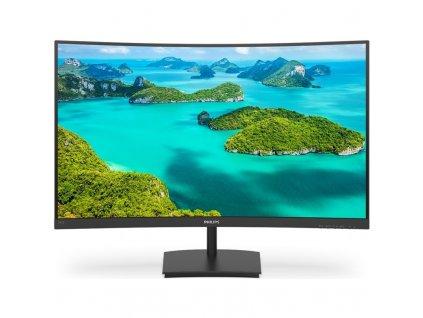 """Monitor Philips 241E1SC 23.6"""",LED, VA, 4ms, 3000:1, 250cd/m2, 1920 x 1080,"""