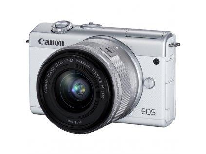 CSC fotoaparát Canon EOS M200 + EF-M 15-45 IS STM, bílý