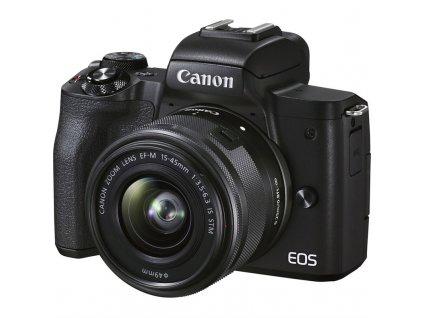CSC fotoaparát Canon EOS M50 Mark II + EF-M 15-45 - SELEKCE SIP