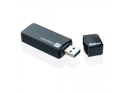 Čtečka paměťových karet Connect IT GEAR USB3.0