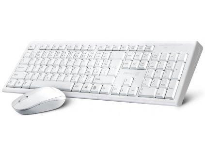 Klávesnice s myší Connect IT CI-1118, CZ/SK - bílá