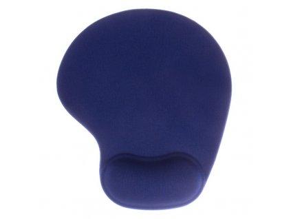 Podložka pod myš Cover IT s podložkou pod zápěstí 24,5 x 21 cm - modrá
