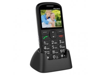 Mobilní telefon CPA Halo 11 Senior - černý
