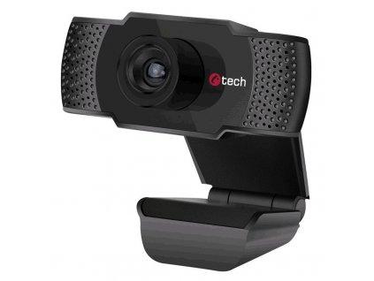 Webkamera C-Tech CAM-07HD, 720p - černá