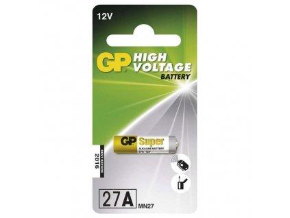 Baterie alkalická GP 27A, blistr 1ks