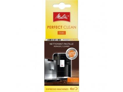 Čistící tablety Melitta Perfect clean Espresso 4x1,8g
