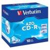 Disk Verbatim CD-R 700MB/80min, 52x, Crystal, jewel box, 10ks