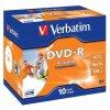 Disk Verbatim DVD-R 4.7GB, 16x, printable, jewel box, 10ks