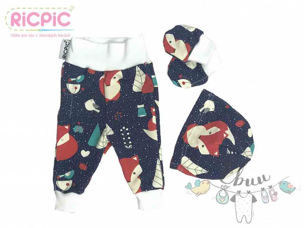 RicPic novorozenecky set lisky