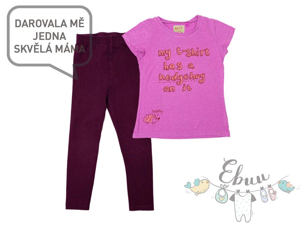 fialovo růžový miniset