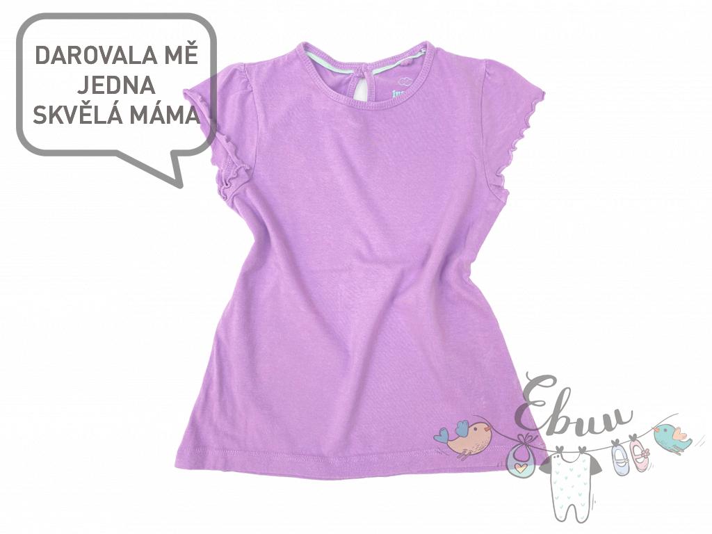 fialové triko
