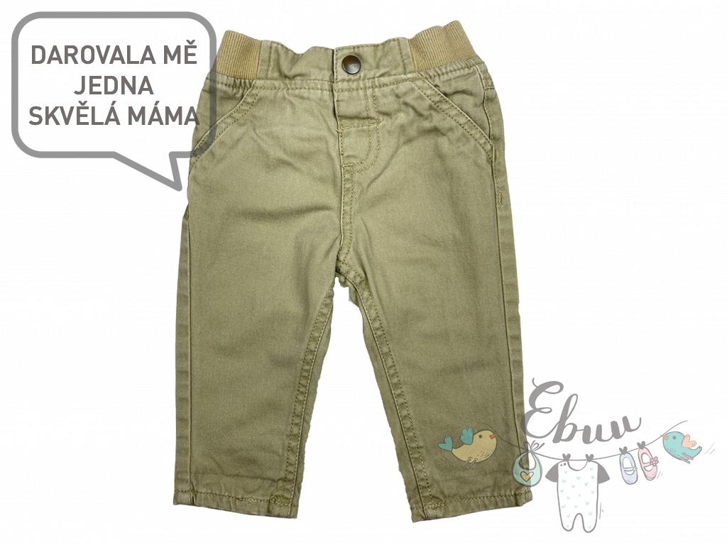 béžové kalhoty na ven