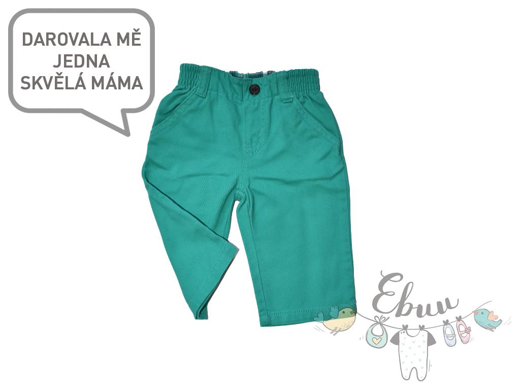 zelené kalhoty na ven