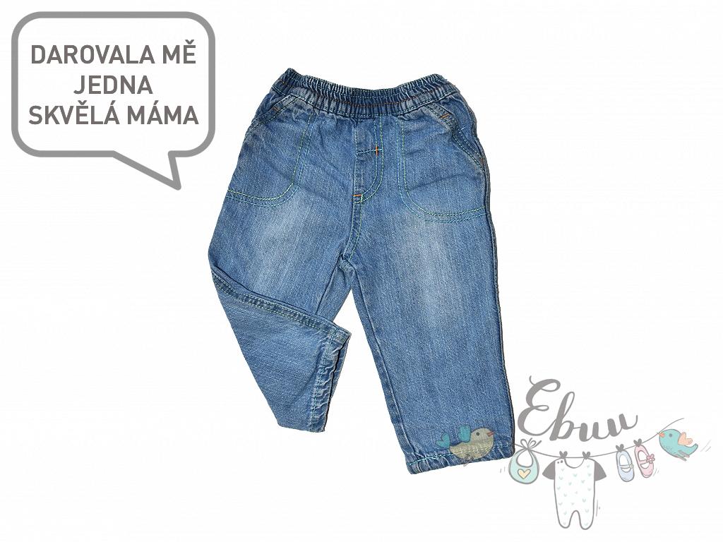 džínové kalhotky