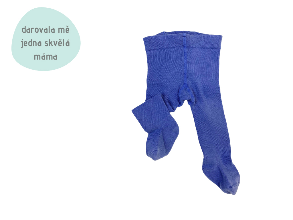 tmavě modré punčochy