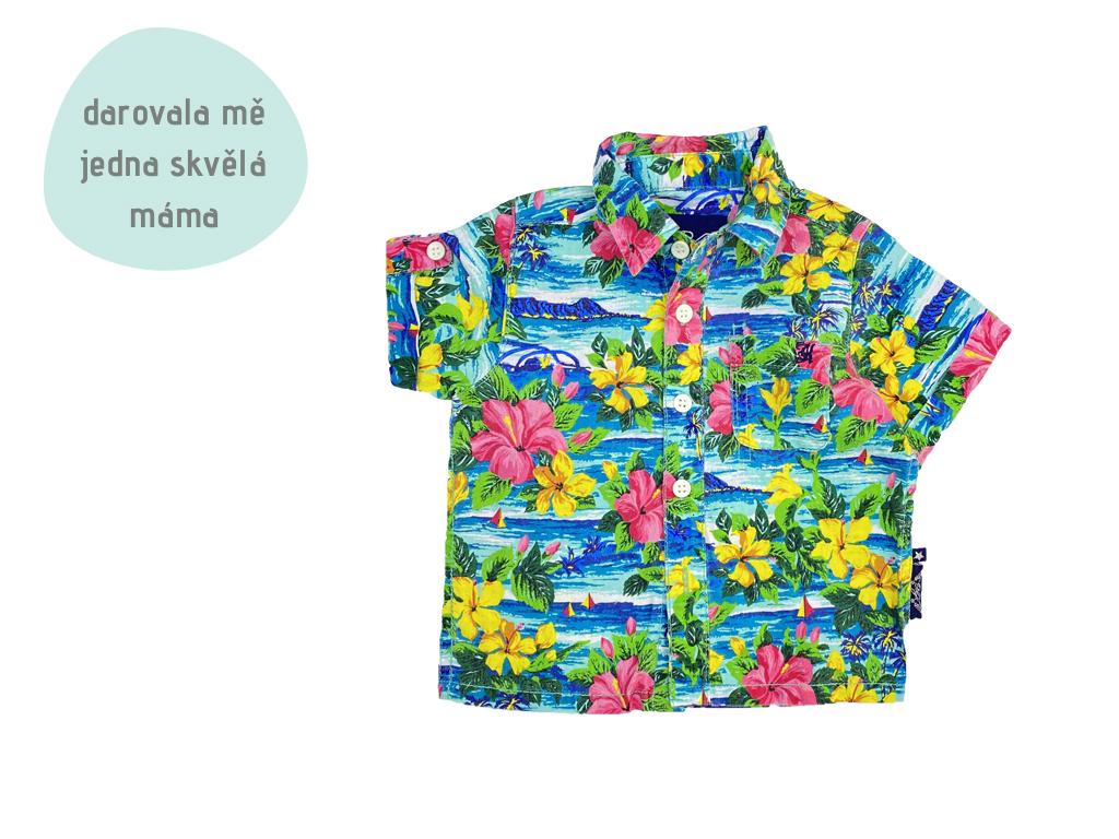 barevná letní košile