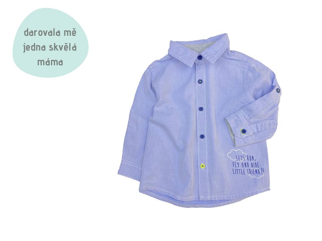 světle modrá košile
