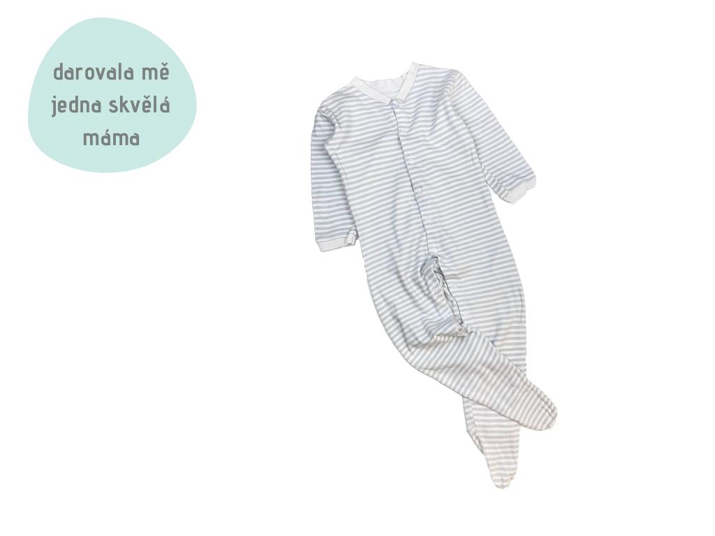 pruhované pyžamko