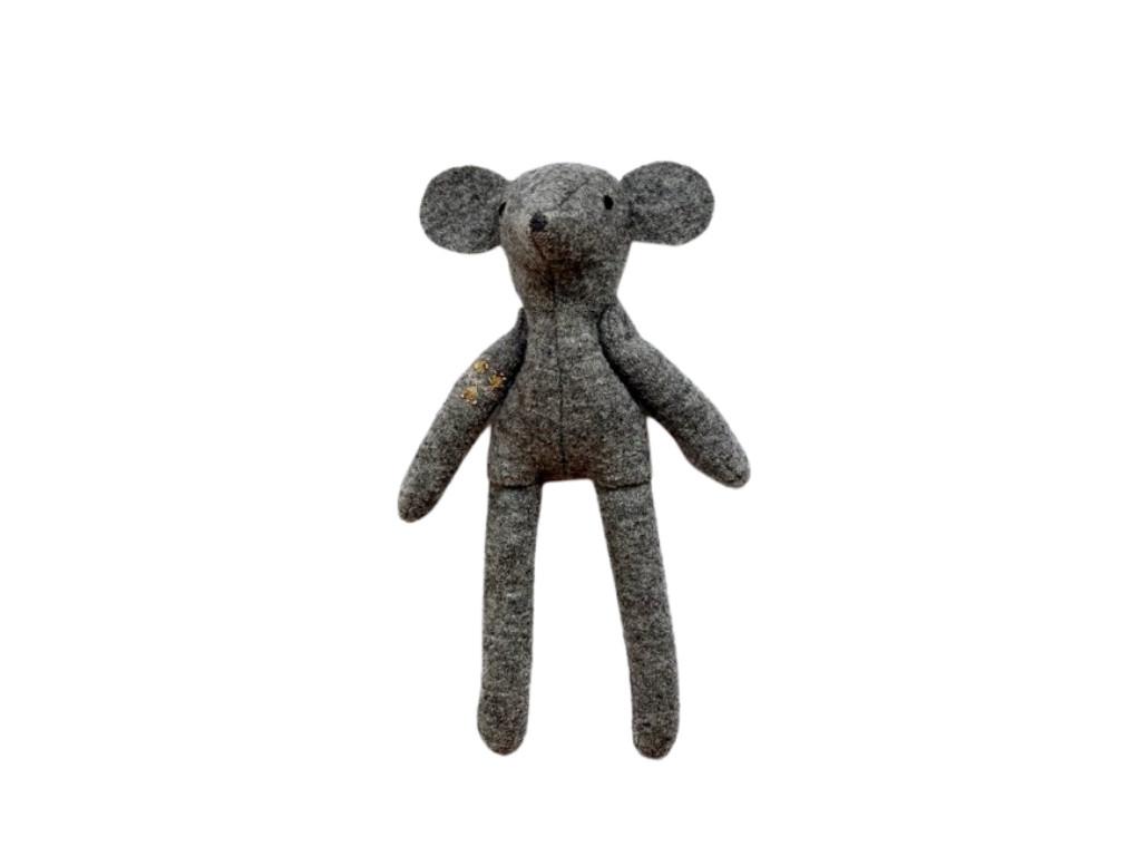 Myš vlňák - vlněná hračka