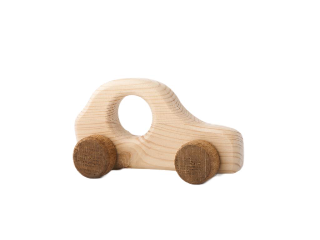 autíčko Štěpánek - dřevěná hračka