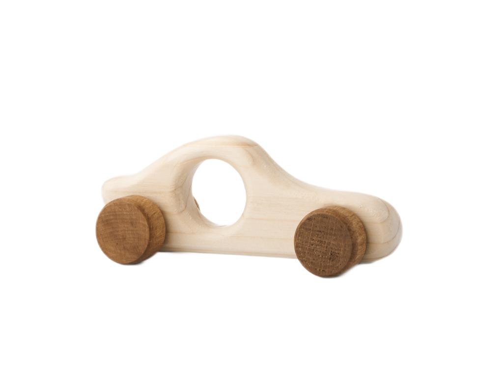 autíčko Filípek - dřevěná hračka