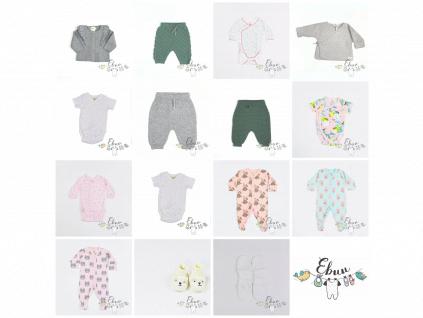novorozenecký komplet, 15 kusů
