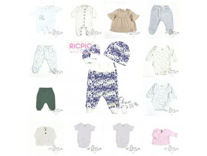 novorozenecký komplet, 17 kusů