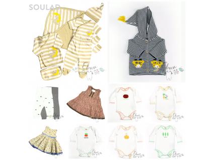 novorozenecký komplet, 11 kusů