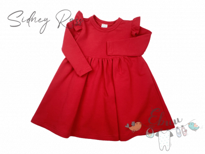rudý šaty