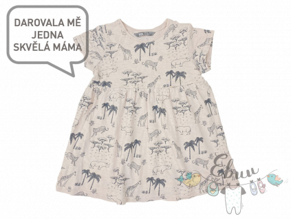 leopardí šaty