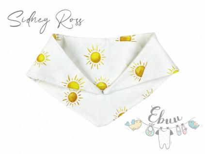 sluníčkový šátek